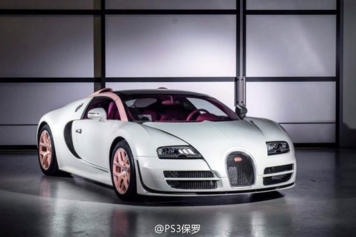 Bugatti Veyron Grand Sport Vitesse Cristal Edition 1