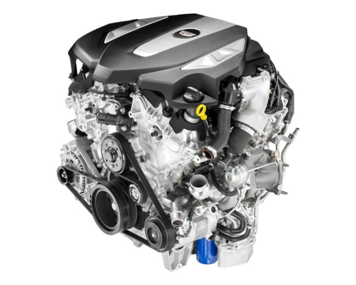 Cadillac twin-turbo 3.0-liter V6 engine (2)