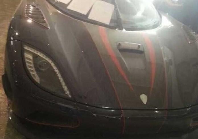 Koenigsegg Agera R BLT seized in China 3