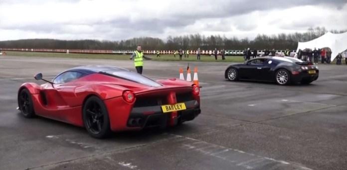 LaFerrari Vs Bugatti Veyron