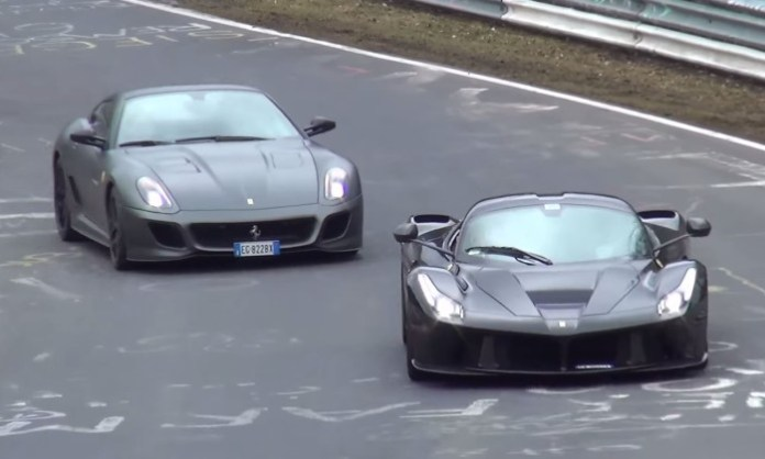 LaFerrari and 599 GTO
