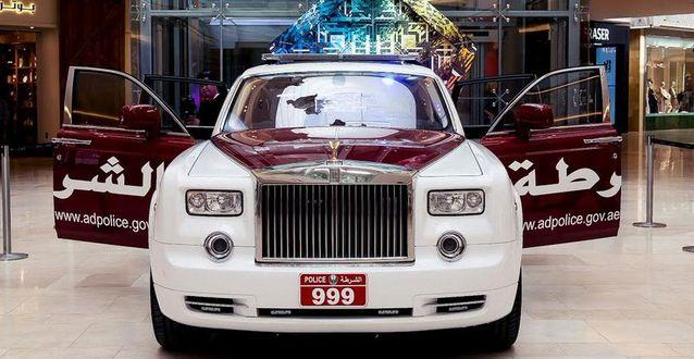 Rolls-Royce Phantom for Abu Dhabi police (4)