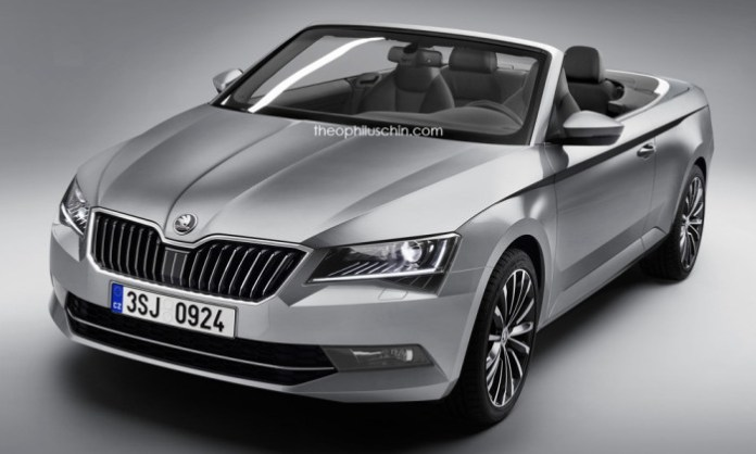 Skoda Superb Convertible (1)