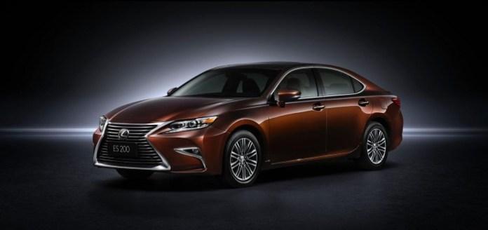 2016 Lexus ES facelift 1