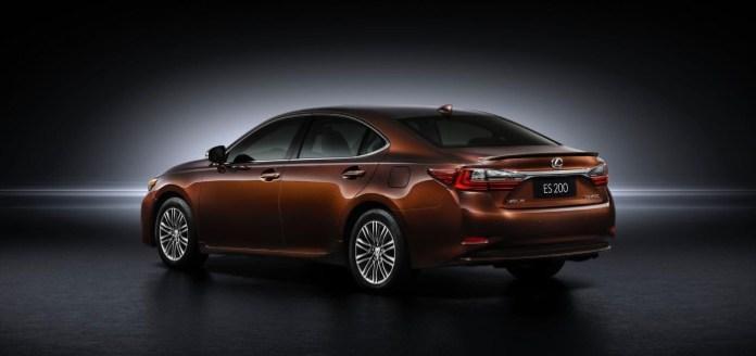 2016 Lexus ES facelift 11