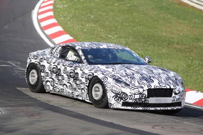 Aston Martin DB11 spy photos (3)