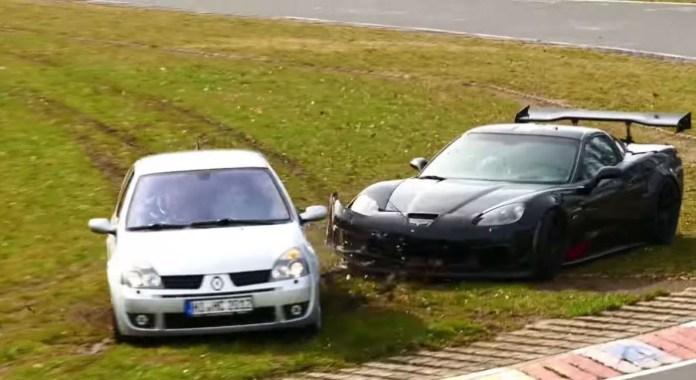 Clio Vs Corvette
