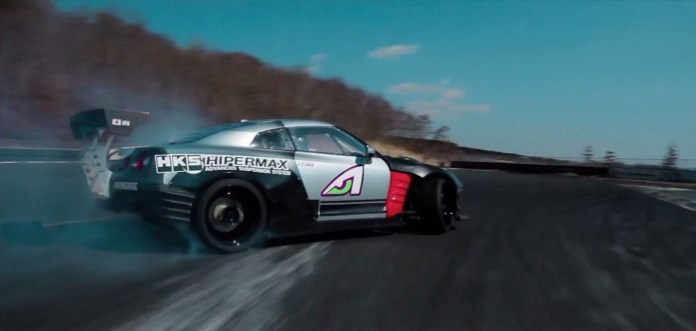 Formula D Nissan GT-R