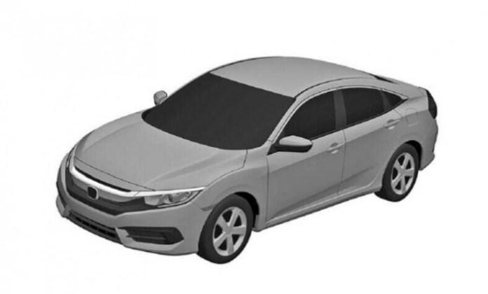 Honda Civic 2016 patent drawings (1)