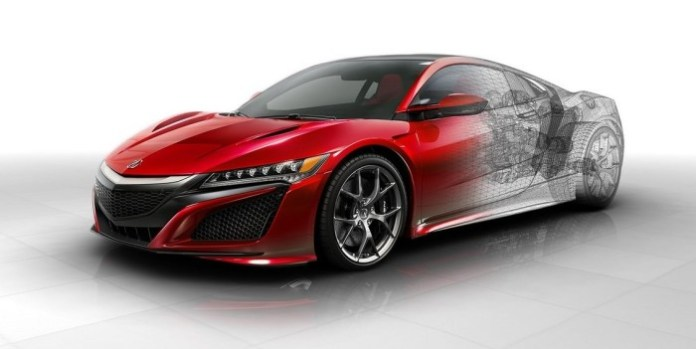 Honda NSX 2016 Technical Details (1)