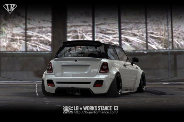 MINI Cooper Wide Body Kit by Liberty Walk (2)