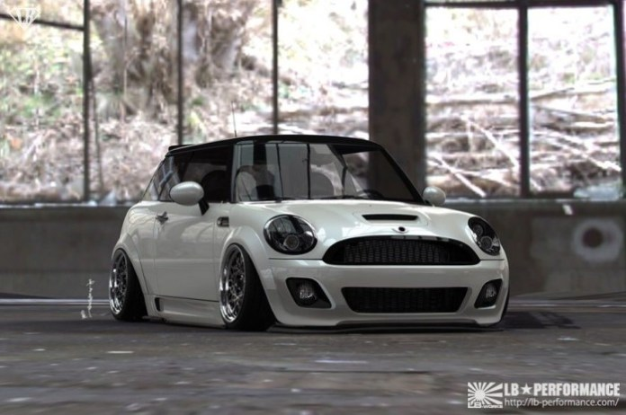 MINI Cooper Wide Body Kit by Liberty Walk (3)