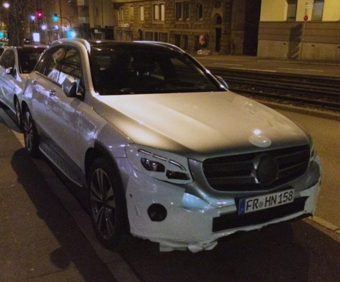 Mercedes-Benz GLC spy photo (1)