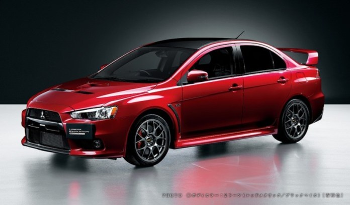 Mitsubishi Lancer Evolution Final Edition (5)