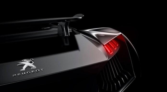 Peugeot supercar concept teaser (1)