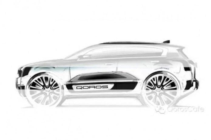 Qoros 2 SUV concept teaser