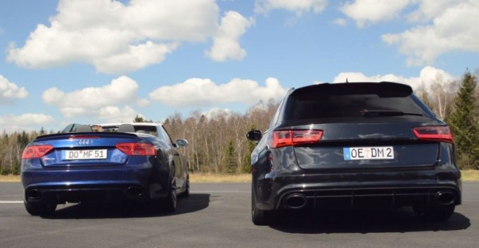 RS 5 Vs RS 6