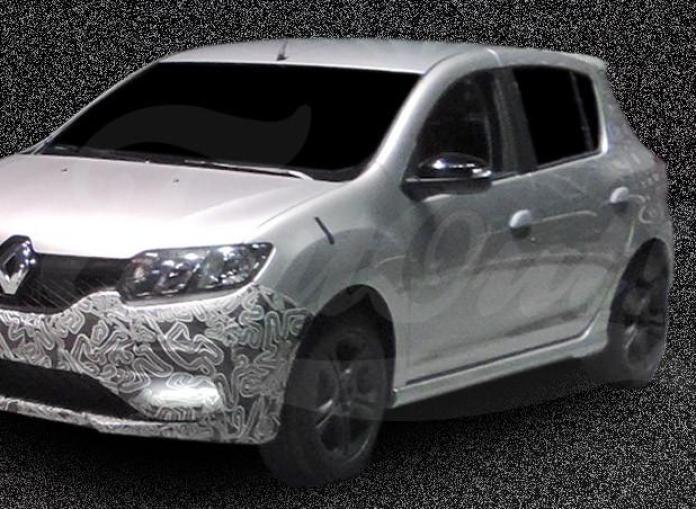 Renault Sandero RS spy photo (1)