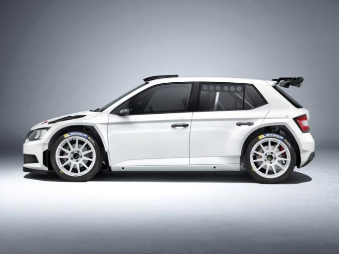 Skoda Fabia R 5 Rally Car 2015 (2)