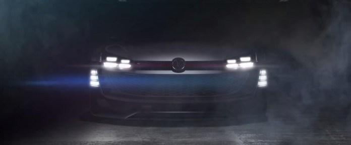 Volkswagen GTI Supersport Vision GT teasers (1)