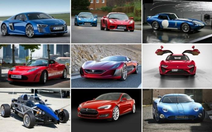 fast ev cars