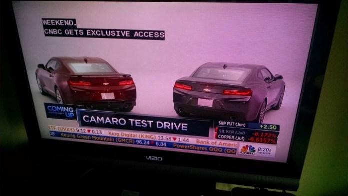 Chevrolet Camaro 2016 leaked (2)