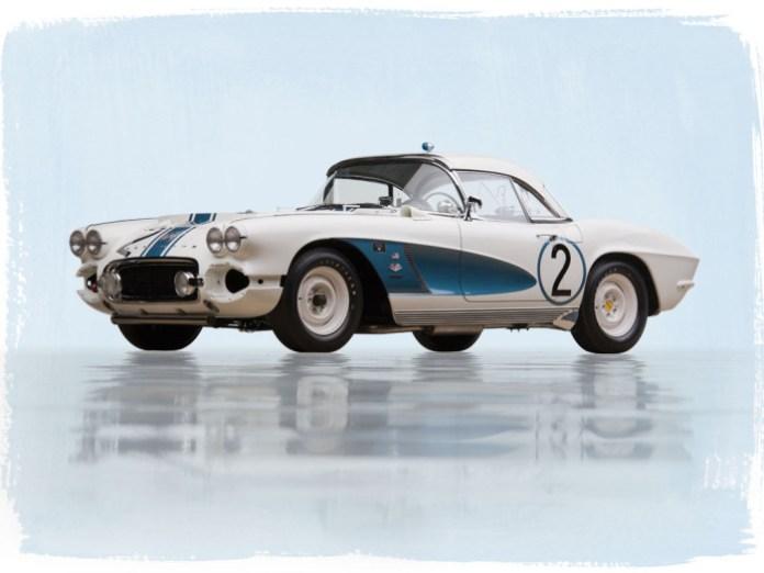 Chevrolet Corvette Gulf Oil Race Car 1962 (1)