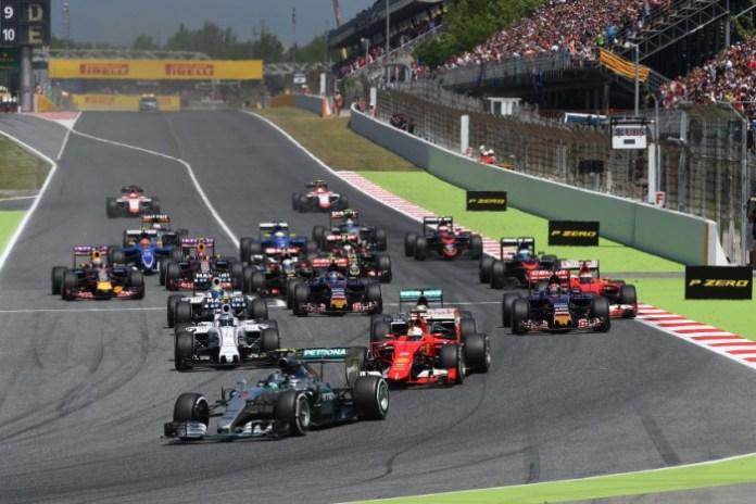 Spanish GP Start