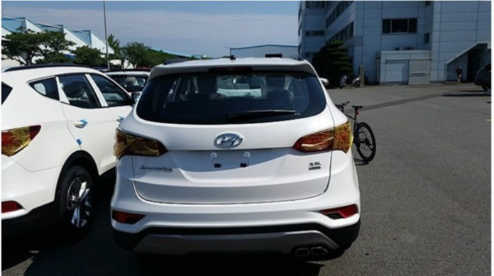 Hyundai Santa Fe facelift (2)