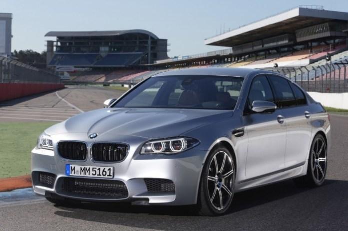 BMW M5 Facelift 2014
