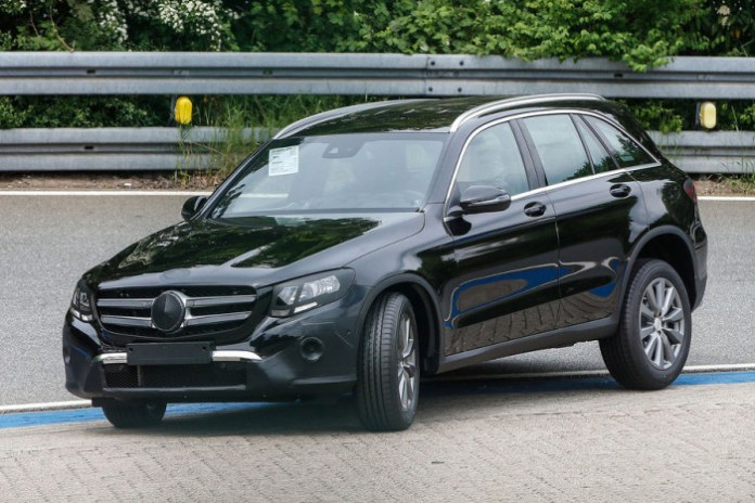 Mercedes GLC Spy Photos (6)