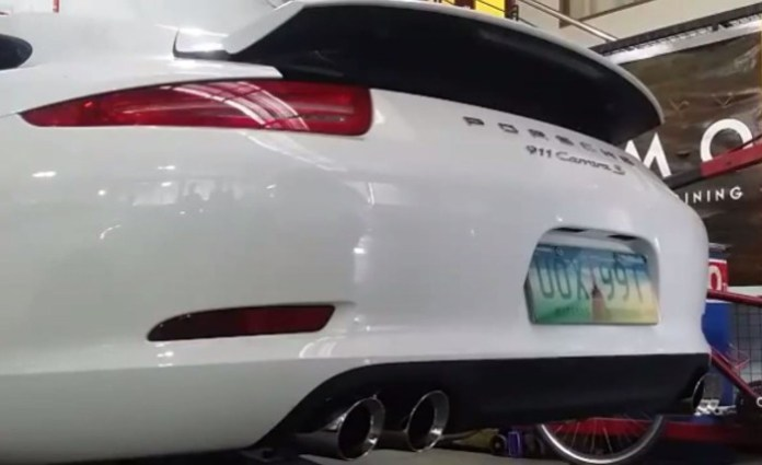 Porsche 911 Carrera S Armytrix Exhaust