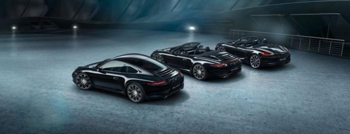 Porsche Boxster and 911 Carrera Black Edition (14)