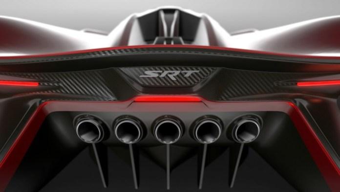 SRT Tomahawk Vision Gran Turismo concept teasers (2)