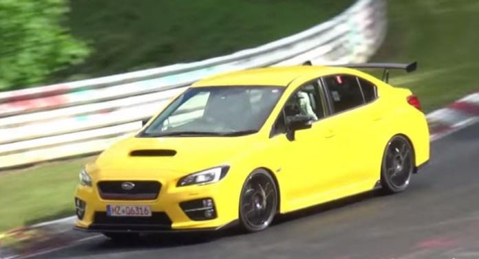 Subaru WRX STI ring
