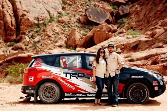 Toyota RAV4 rally car 1