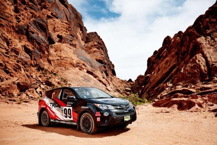 Toyota RAV4 rally car 2