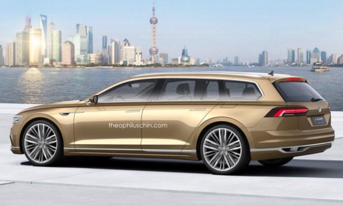Volkswagen Phaeton Variant rendering (2)
