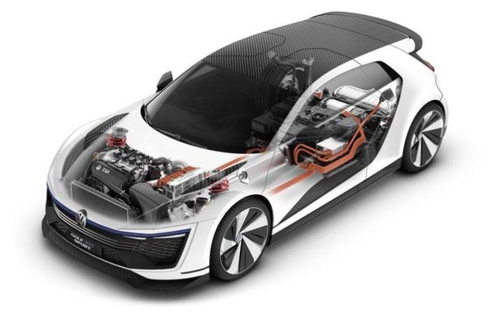 Volskwagen Golf GTE Sport concept (9)