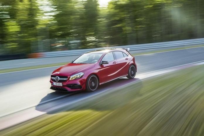 2016 Mercedes-Benz A45 AMG facelift 36