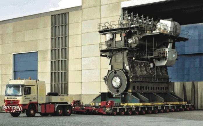 A Marine Engine