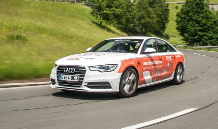 Audi A6 2.0 TDI ultra world record (2)