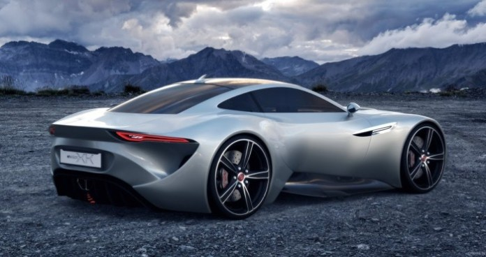 Jaguar XK Coupe concept study (1)