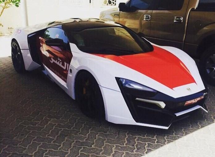 Lykan Hypersport for Abu Dhabi police (1)