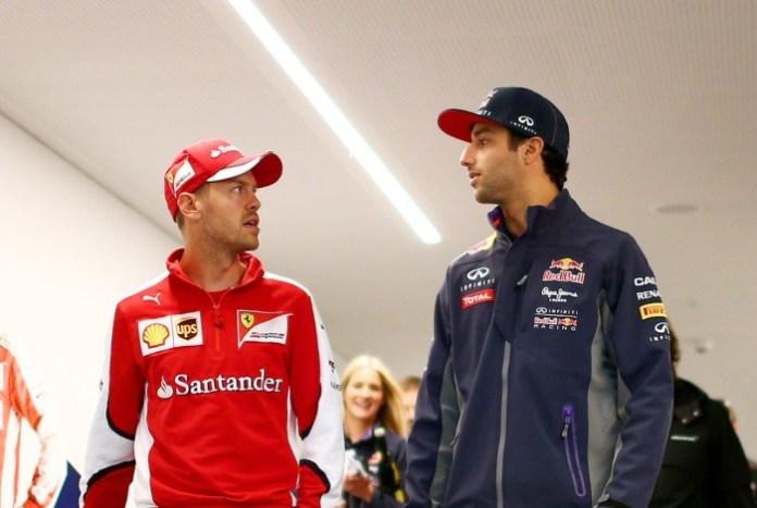 Vettel Ricciardo