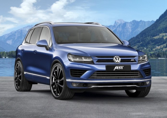 Volkswagen Touareg 3.0 TDI by ABT 1