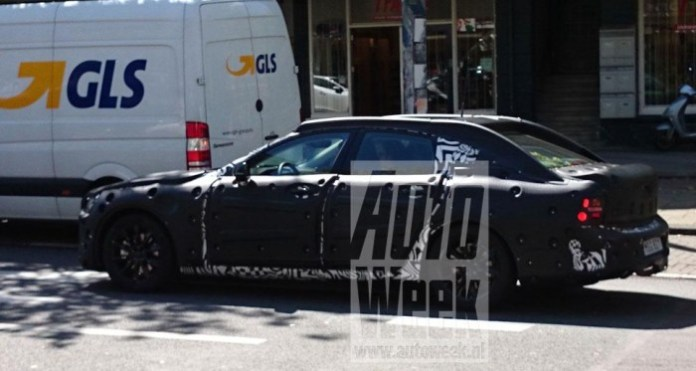 Volvo S90 spy photo