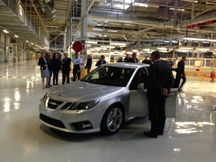 First_Saab_9-3_pre-production_vehicle