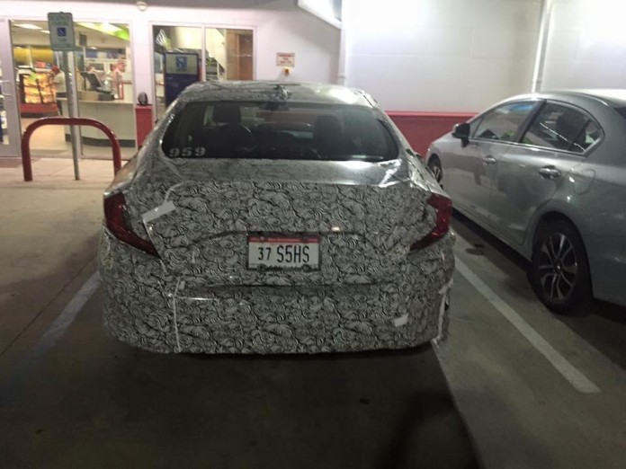 Honda Civic spy photos (4)