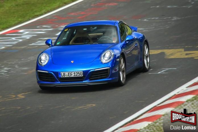 Porsche 911 facelift (1)